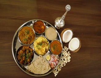 Mutton Thali at our Restaurant